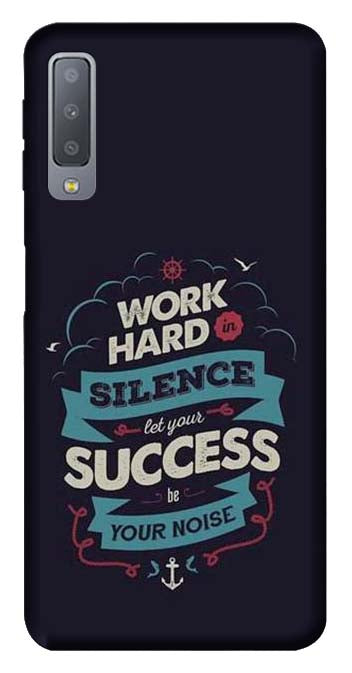 Quotes Collection Back Cover for Samsung Galaxy A7 2018