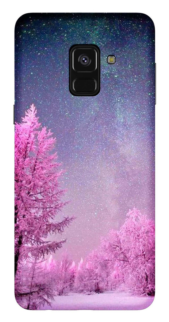 Nature Collection Back Cover for Samsung Galaxy A8 Plus