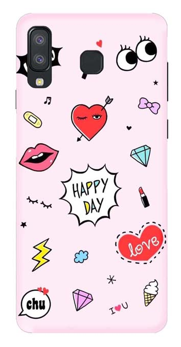 Trendy Collection Back Cover for Samsung Galaxy A9 Pro 2018