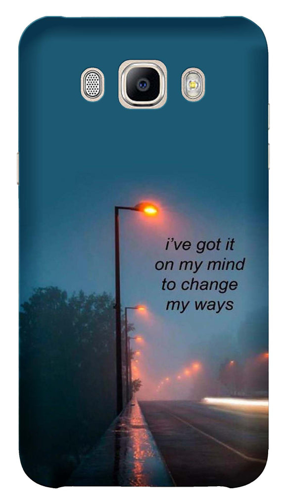 Quotes Collection Back Cover for Samsung Galaxy J7 2016
