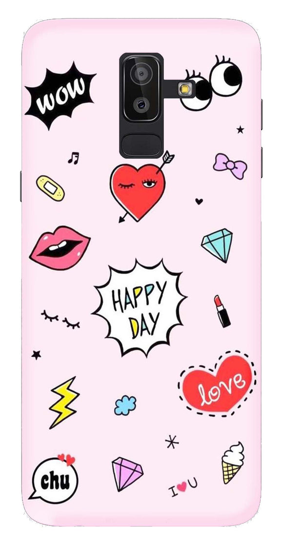 Trendy Collection Back Cover for Samsung Galaxy J8