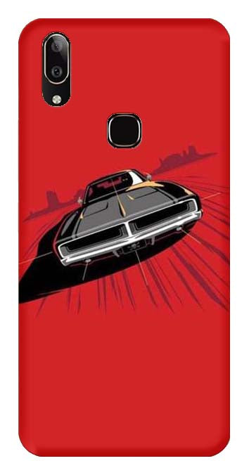 Bikes & Cars Collection Back Cover for Vivo Y91