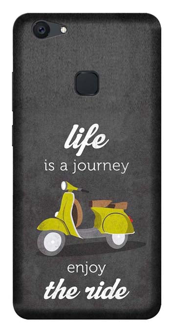 Quotes Collection Back Cover for Vivo Y81