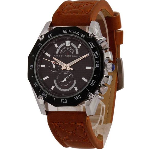 StyleKen Classic Leather Men's Watch