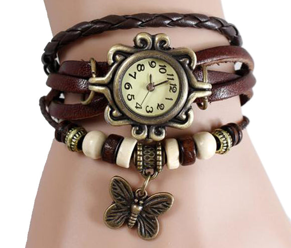 Brown Vintage Watch for Women