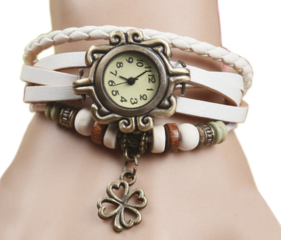 White Vintage Watch for Women