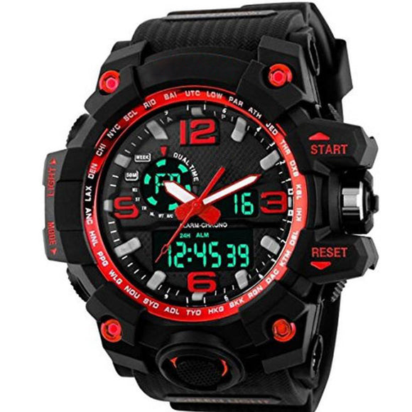 StyleKen Skmei Red Watch