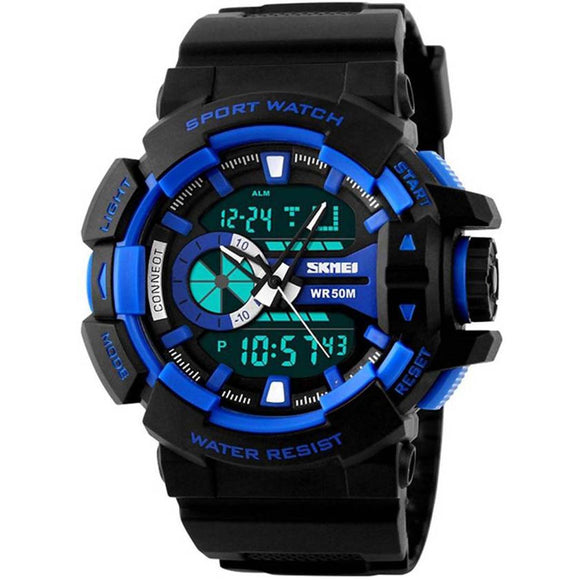 StyleKen SKMEI Blue Sport Watch