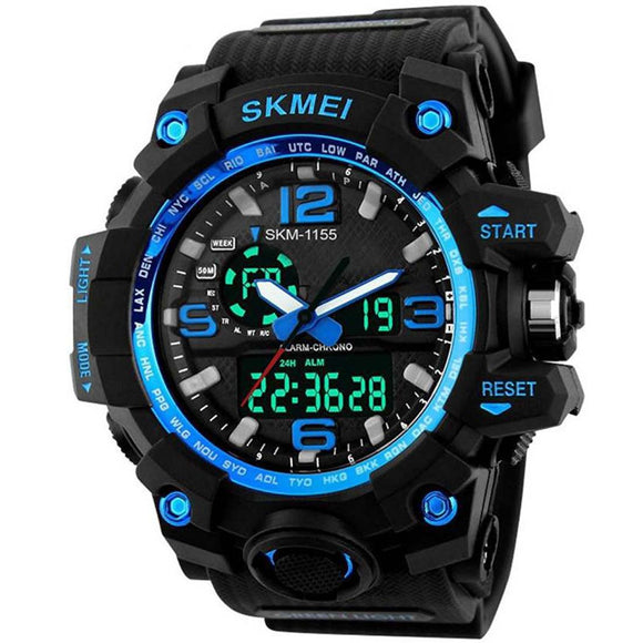 StyleKen Skmei Blue Watch