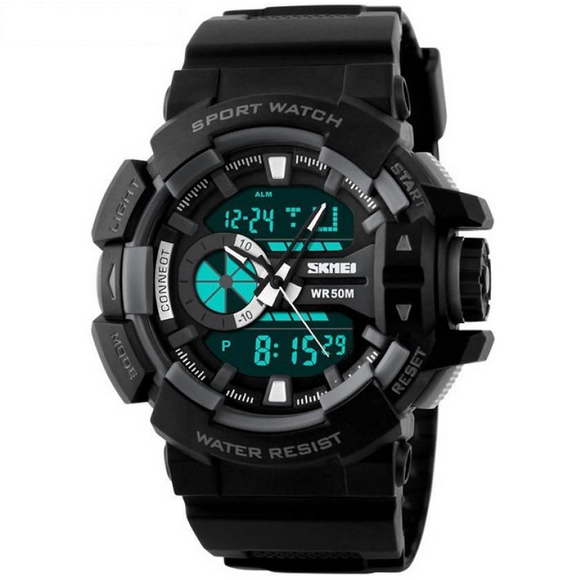StyleKen SKMEI Black Sports Watch