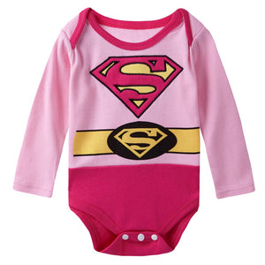 Body bébé superman fille | Pyjama Superman Bébé Fille