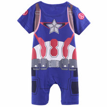 Déguisement Bebe Captain America | Body Captain America Bébé