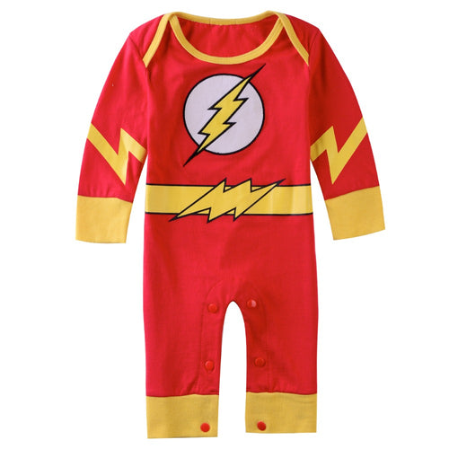Pyjama Flash Super Héros|  Déguisement Bébé Flash