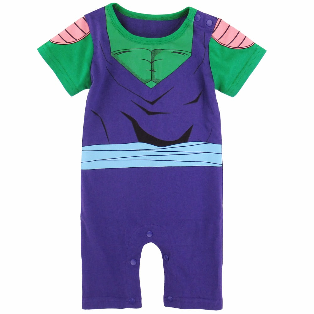 Pyjama Bébé Picollo | Barboteuse Bébé Dragon Ball Z
