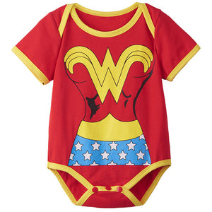 Body Bébé Wonder Woman | Body manches courtes