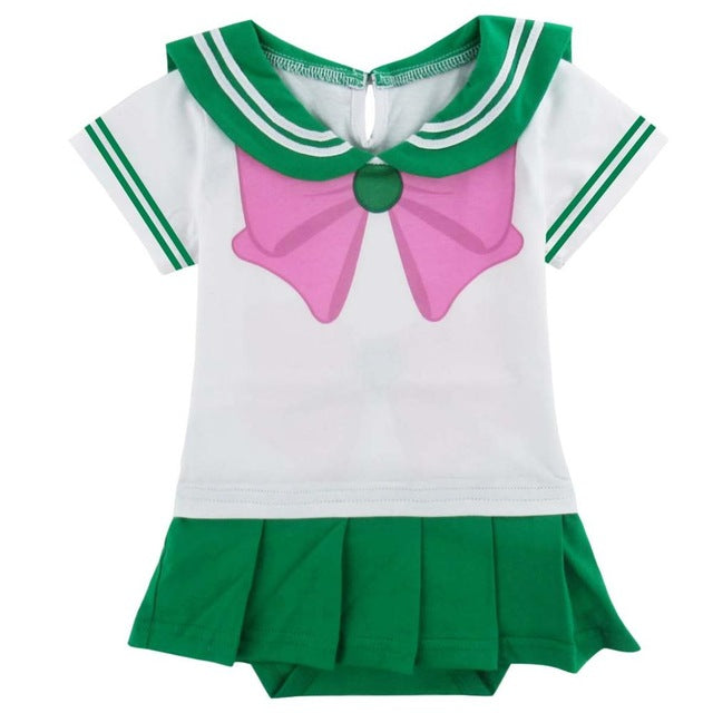Body Sailor Jupiter Bébé Fille | Pyjama Sailor Jupiter Enfant | Cosplay Sailor Jupiter