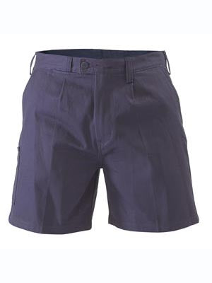 BISLEY Work Shorts Cotton Drill, Navy, Kaki and Bottle