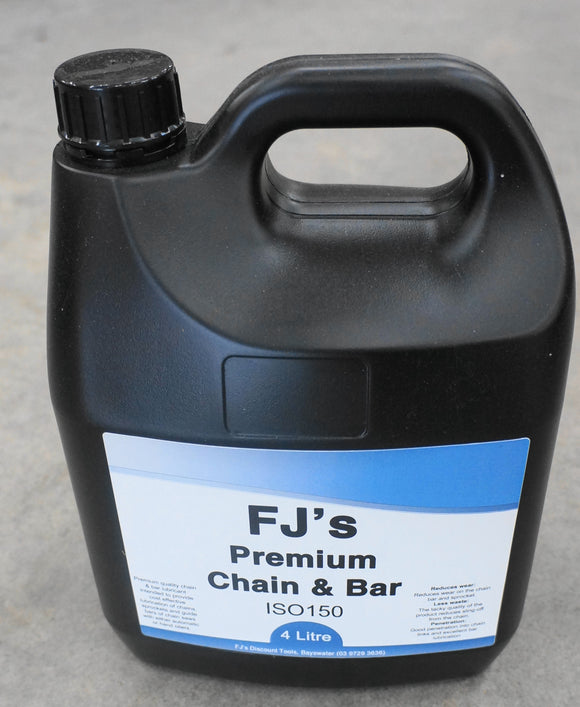 Chain and  Bar Oil