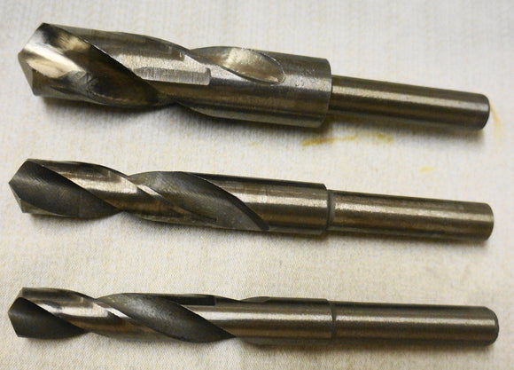 HSS Drill Bits Metric 14mm - 25mm With Reduced 12mm Shank