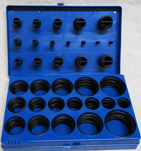 407 Piece Rubber O Ring Set