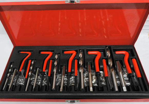 THREAD REPAIR KIT HELICOIL Type, 131 Piece Automotive