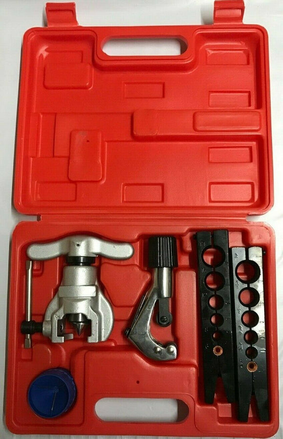 Flare Tool, Tube Flaring Kit, Imperial 1/4