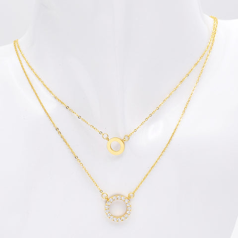 Double Layer Necklace for Women