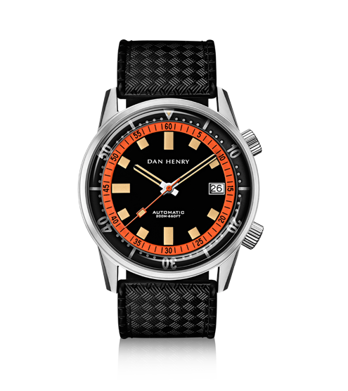 Dan Henry 1970 Diver Compressor 40 (Orange)