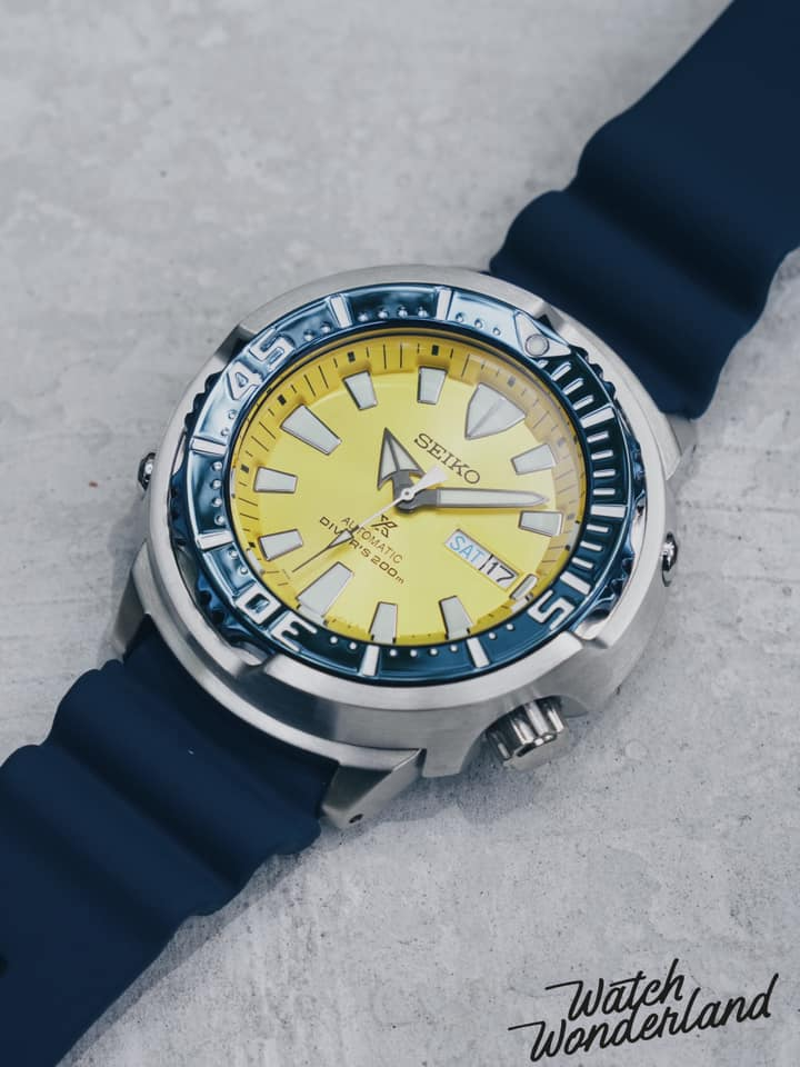"Seiko SRPD15K1 ""Blue Butterfly Fish"" Tuna"