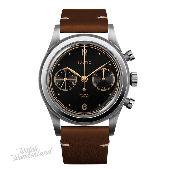 Baltic Bicompax 001 Chronograph (Black Gilt)