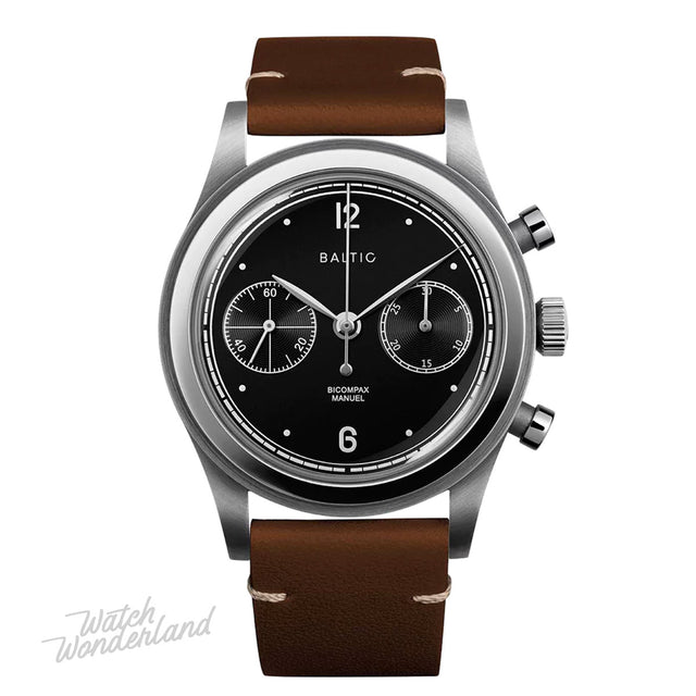 Baltic Bicompax 001 Chronograph (Black Silver)