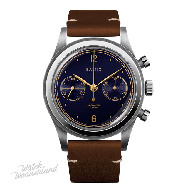 Baltic Bicompax 001 Chronograph (Blue Gilt)