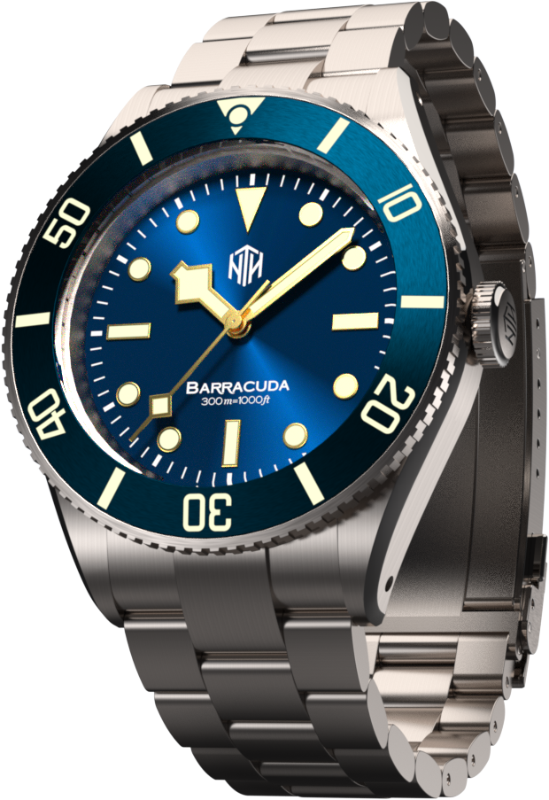 NTH Barracuda (Blue, No Date) (Coming Soon)