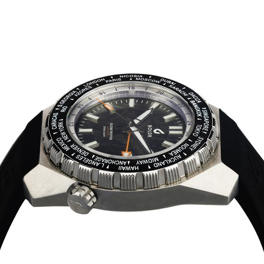 Boldr Globetrotter GMT World Timer (Meteoblack)