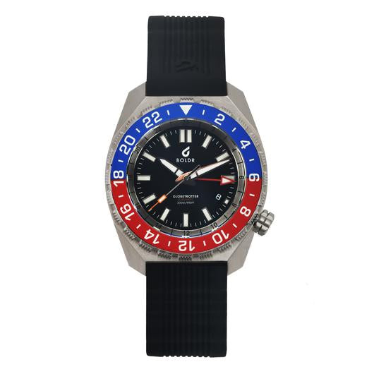 Boldr Globetrotter GMT (Blue/Red)