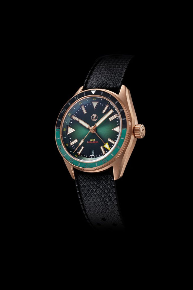 Zelos Horizons GMT (Bronze, Hunter Green)