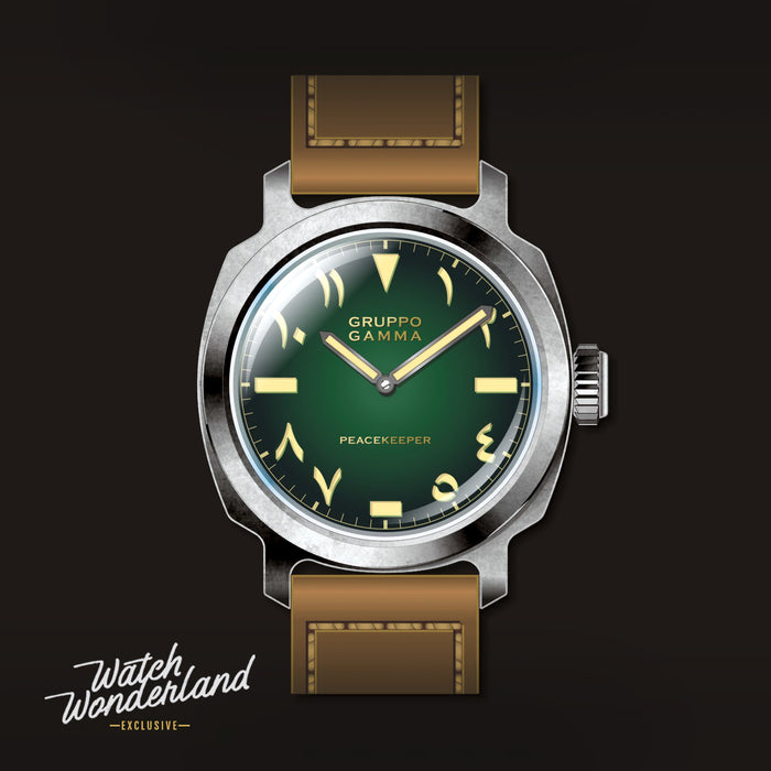"Gruppo Gamma ""RTB"" Trench Green - Watch Wonderland Exclusive Edition"