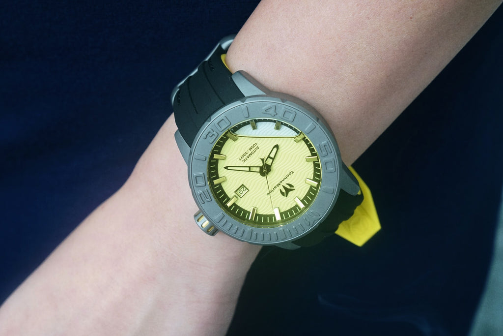 Technomarine Reef Titanium (Yellow)