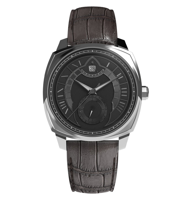 Arcturus Watches LC-1A (Steel, Black)
