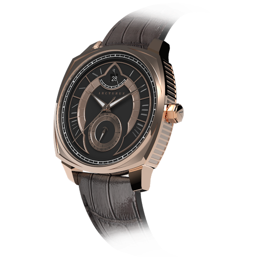 Arcturus Watches LC-1B (Rose Gold, Black)