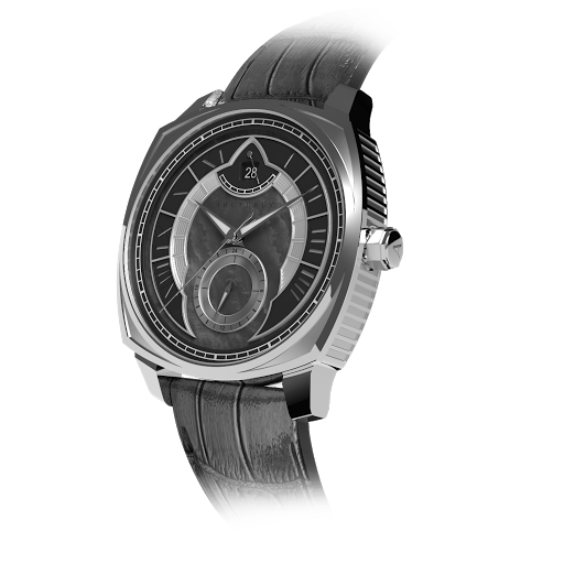 Arcturus Watches LC-1C (Steel, Black Mother of Pearl)