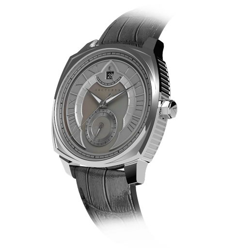 Arcturus Watches LC-1D (Steel, White Mother of Pearl)