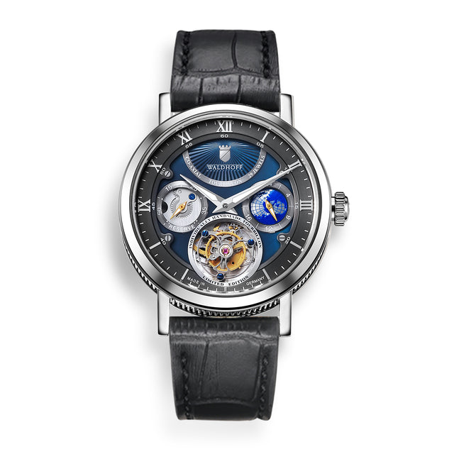 Waldhoff Ultramatic Tourbillon (SS Nacre Blue)