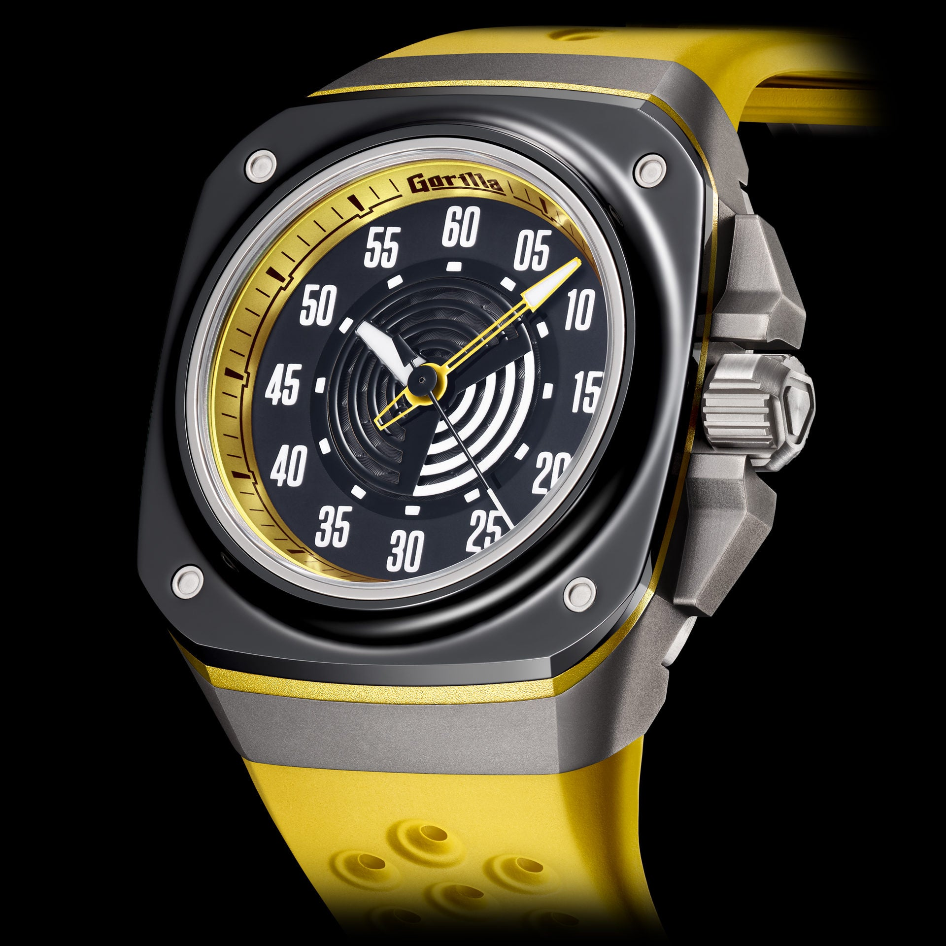 Gorilla Fastback (Stinger, Yellow Strap)