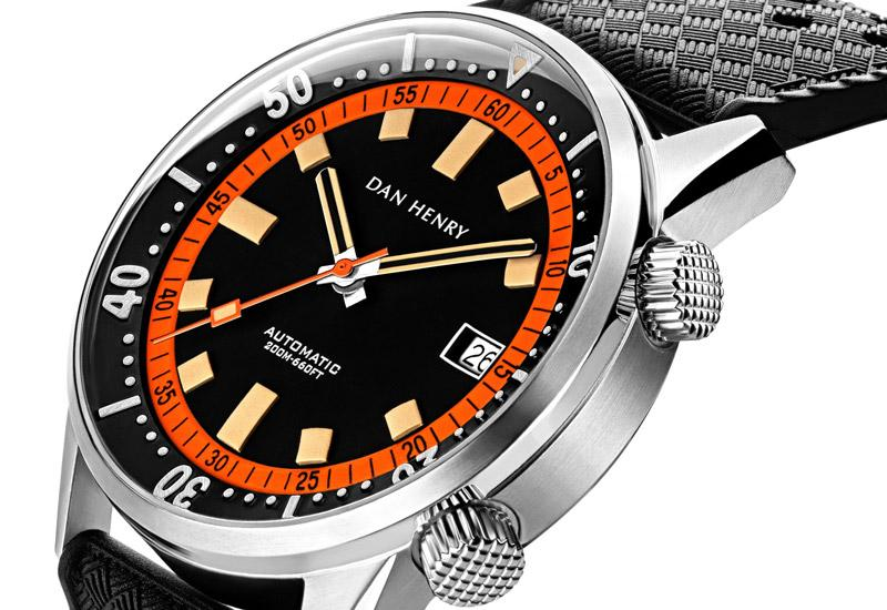 Dan Henry 1970 Diver Compressor 44 (Orange)