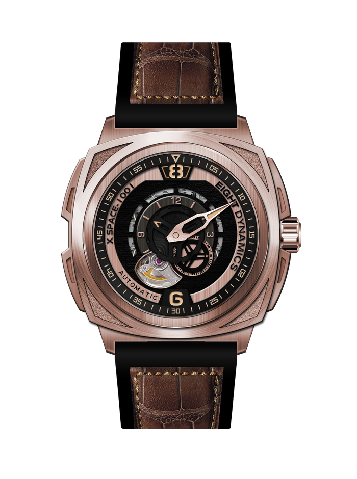 Eight Dynamics X-Space 1001 (Rose Gold)