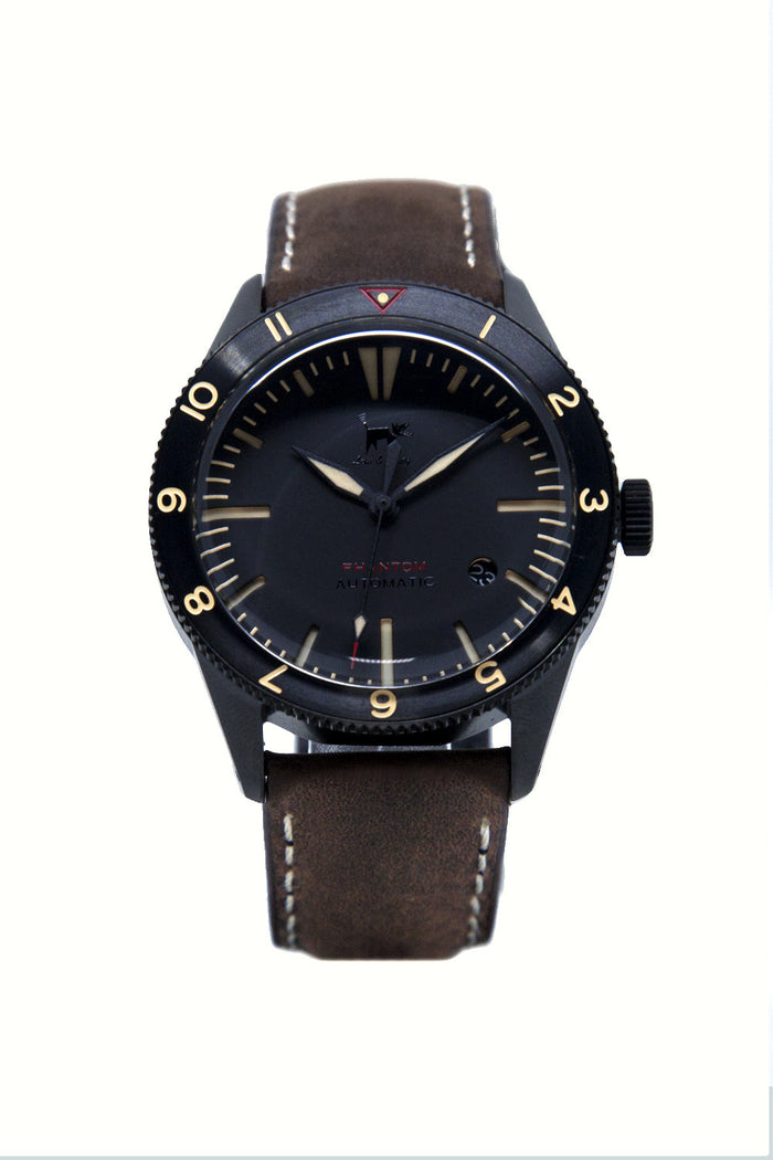 Lew & Huey Phantom B (Black, Date)