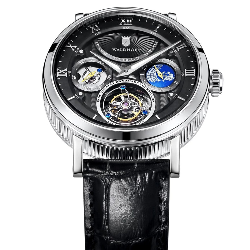 Waldhoff Ultramatic Tourbillon (Obsidian Black)