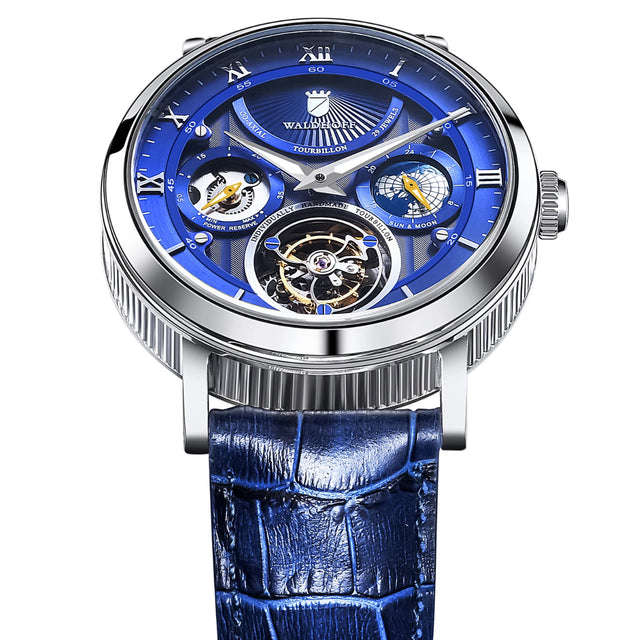 Waldhoff Ultramatic Tourbillon (Royal Blue)