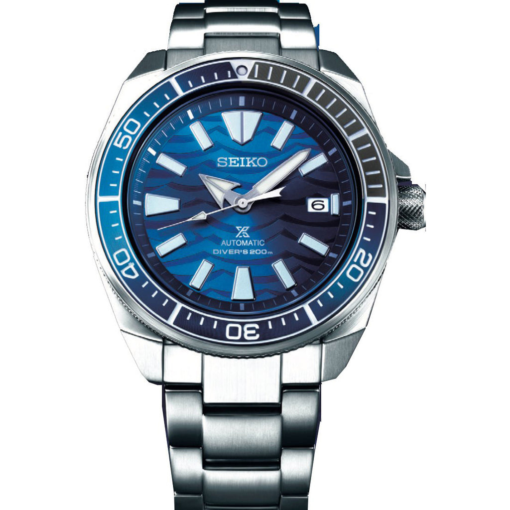 "Seiko SRPD23K1 Prospex ""Save The Ocean"" Great White Samurai"